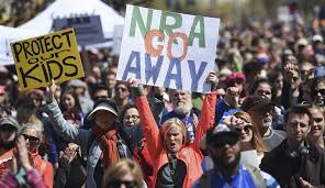 The NRA sues San Francisco after being declared a terrorist group